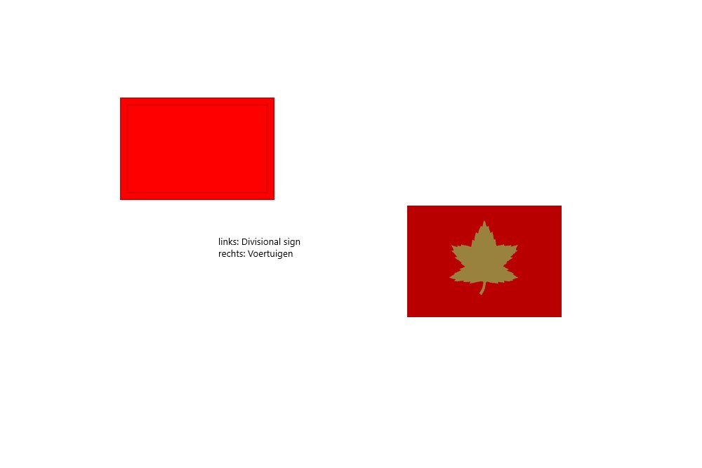 Canadese 1st Canadian Infantry Division