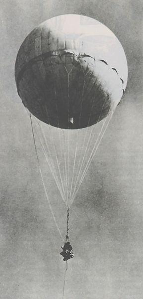 Japanse Fu-Go vuurballonnen