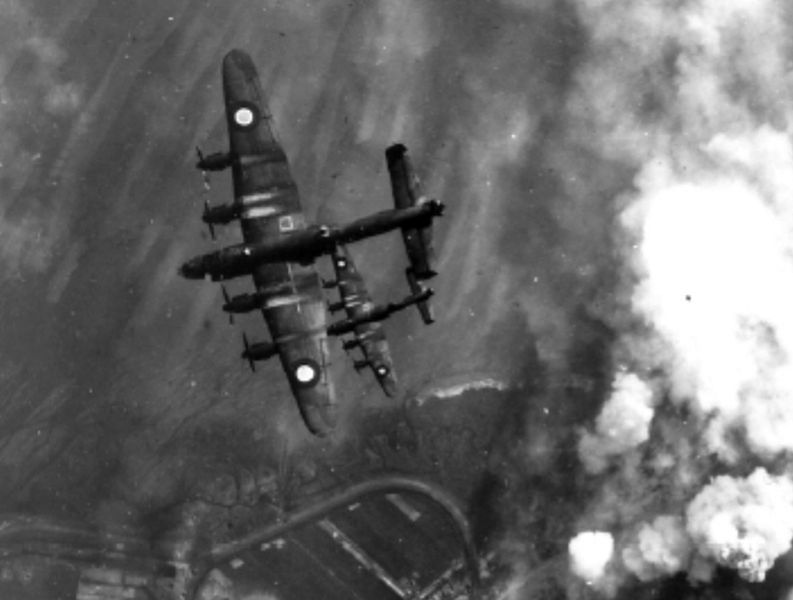 Air raid on Wangerooge, 25 April 1945