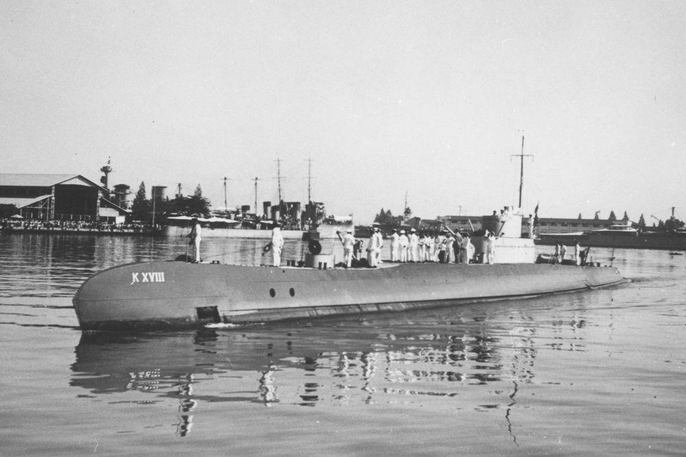 Nederlandse Onderzeeboot Hr. Ms. K XVIII