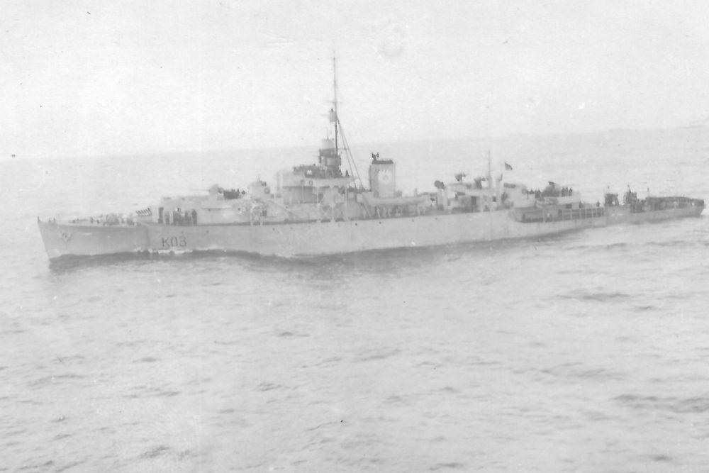 Canadese Fregat HMCS Dunver (K03)