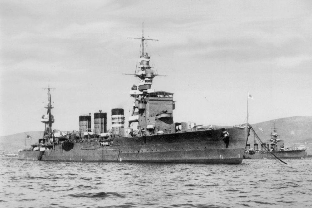 Japanse Lichte-kruiser Natori (1923)