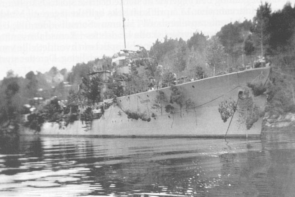 Noorse Torpedobootjager Sleipner (1936)