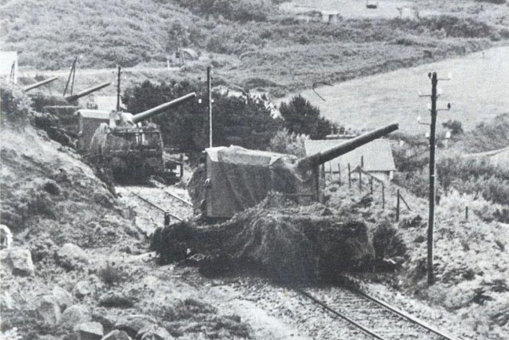Duitse Spoorweggeschut 15 cm Kanone (Eisenbahn)