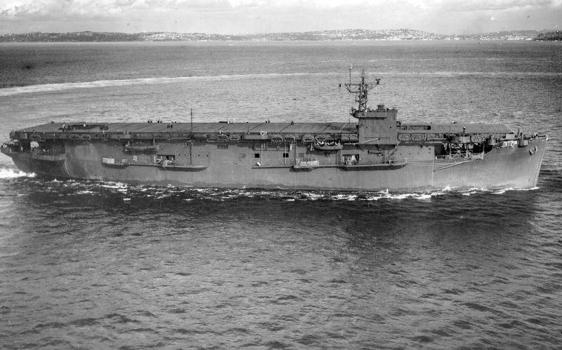 Amerikaanse escortevliegdekschepen van de Bogue-klasse