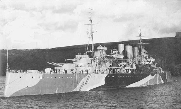 Zware kruisers van de Kent-klasse