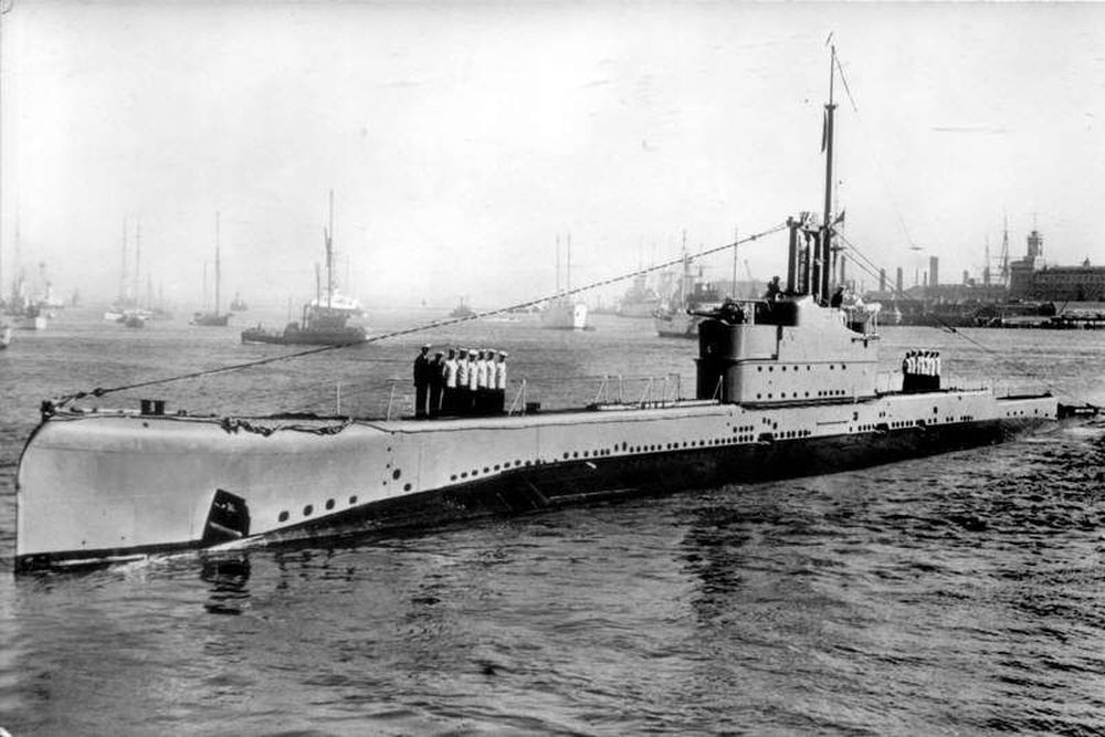 Britse Onderzeeboot HMS Oberon (N21)