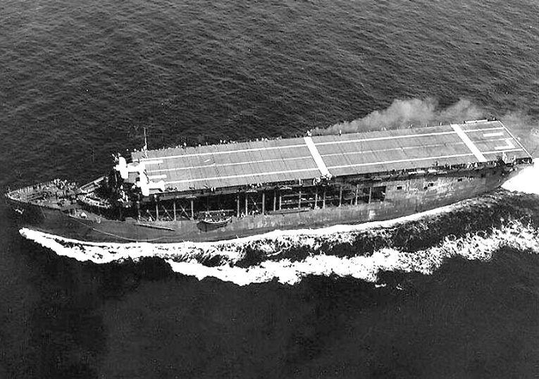 Amerikaans escortevliegdekschip USS Long Island
