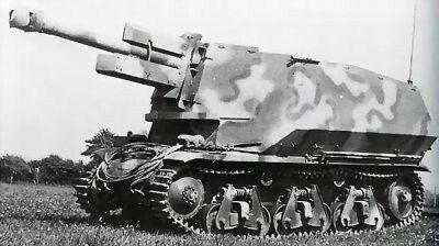 10,5 cm leFH18 (Sf) auf Geschützwagen 39H(f)