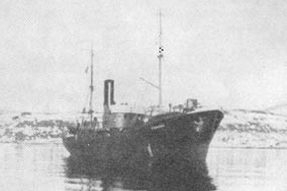 Duitse Fischdampfer Malangen (PG550)