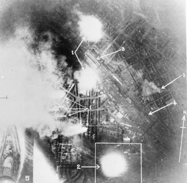 Bombardment of Mannheim, 16-17 December 1940