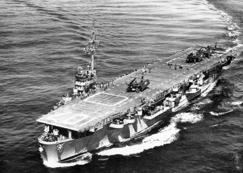 Amerikaanse escortevliegdekschepen van de Commencement Bay-klasse