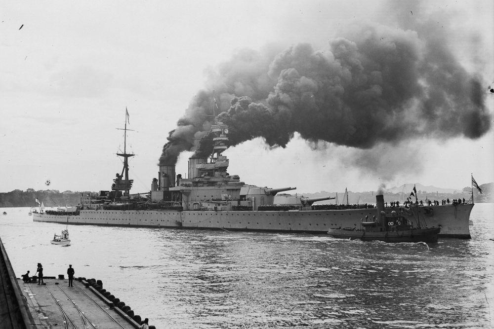 Britse Slagkruiser HMS Renown (72)
