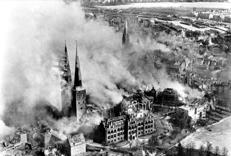 Baedeker Raids on British cities