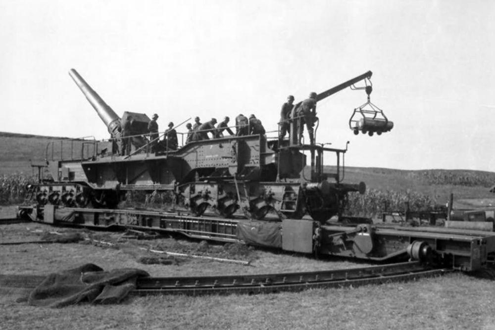 Duitse Spoorweggeschut 24 cm Kanone (Eisenbahn)
