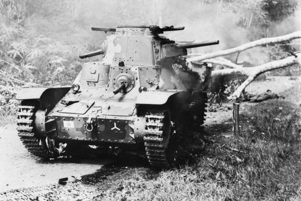 Japanse Lichte-tank Type 95 Ha-Go