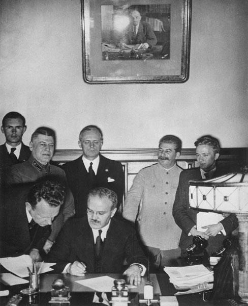 Molotov-Ribbentroppact (23-08-1939)