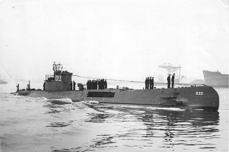 Onderzeeboten van de O 21-klasse