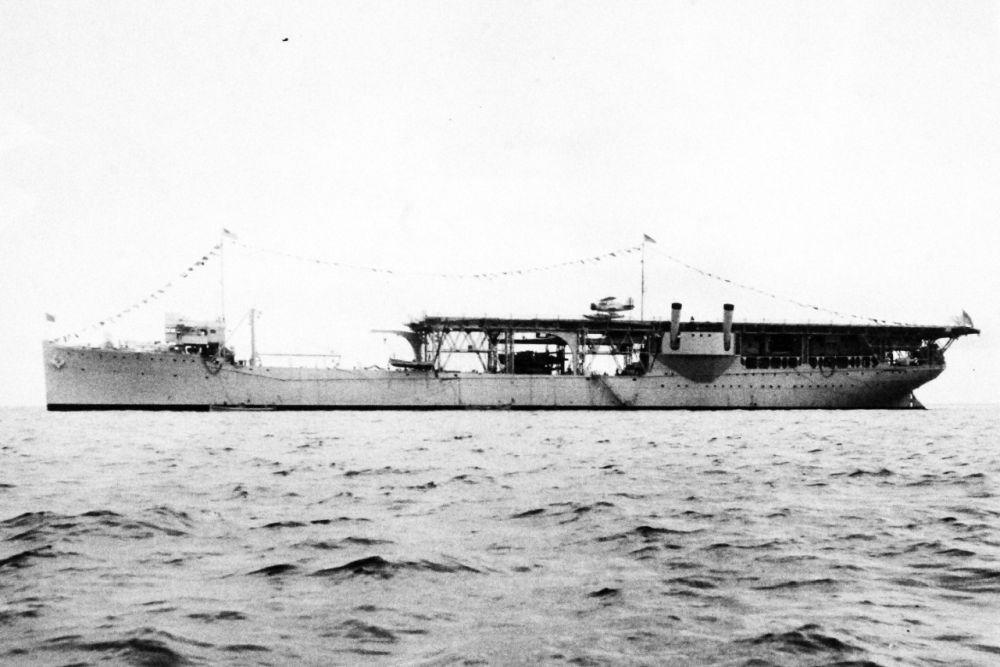 Amerikaanse Vliegtuigmoederschip USS Langley (AV-3)