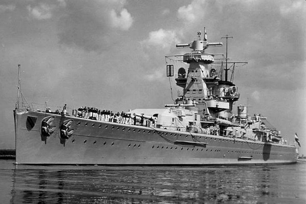 Duitse Zware-kruiser Admiral Scheer (1934)