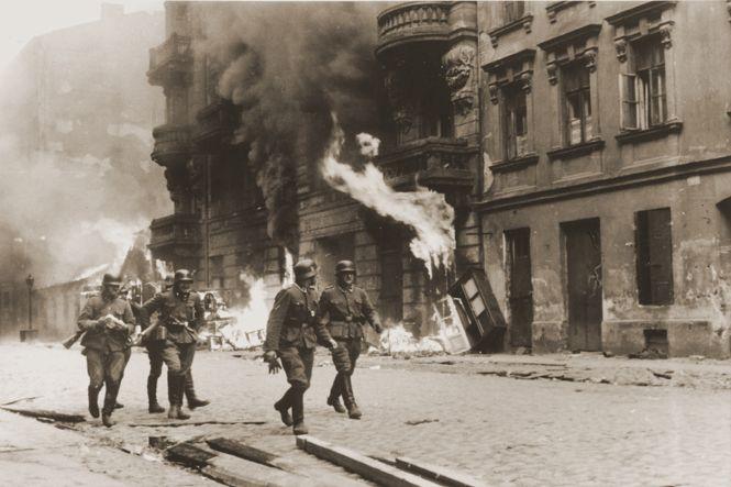 Opstand en liquidatie van het getto van Warschau