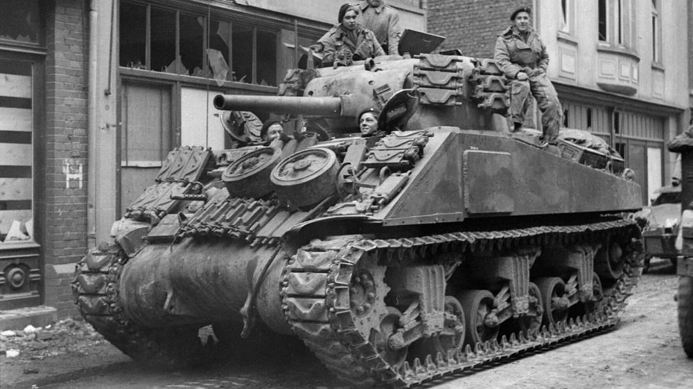Vuurkracht M4 Sherman tegen Duitse tanks (1942-1945)