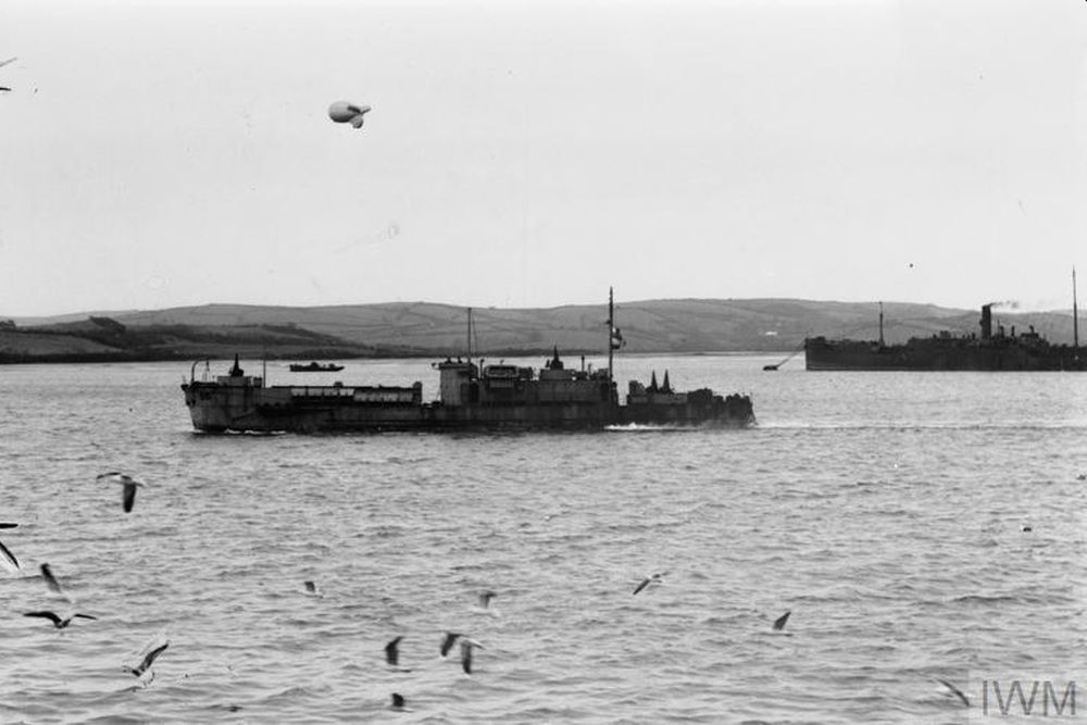 Britse Landing Craft Infantry (Large) HMS LCI(L)-98