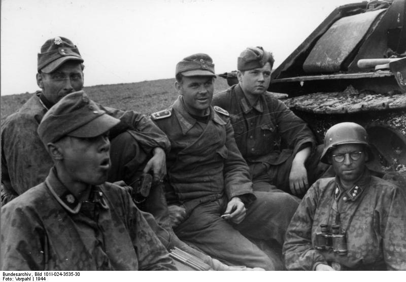 Paul Krauss, 3. SS Division 'Totenkopf