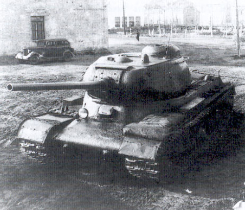 Zware tank IS-serie