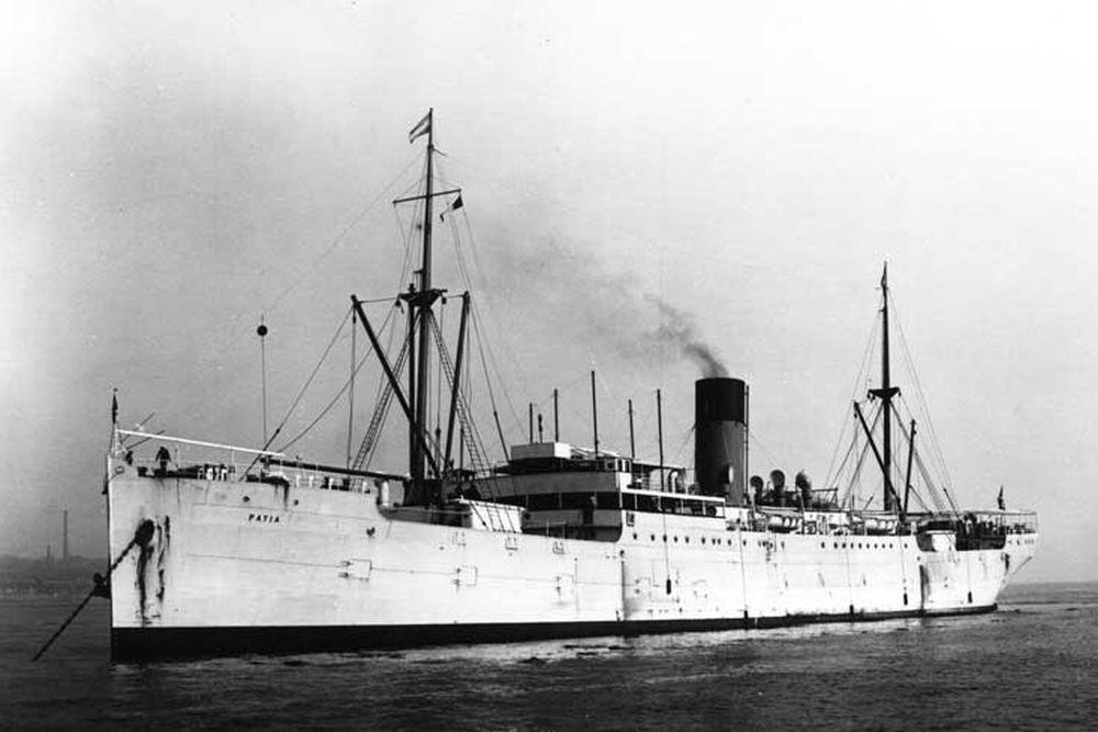 Britse Fighter Catapult Ship HMS Patia (1922)