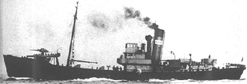 Fate of the crew of HMS Cayton Wyke