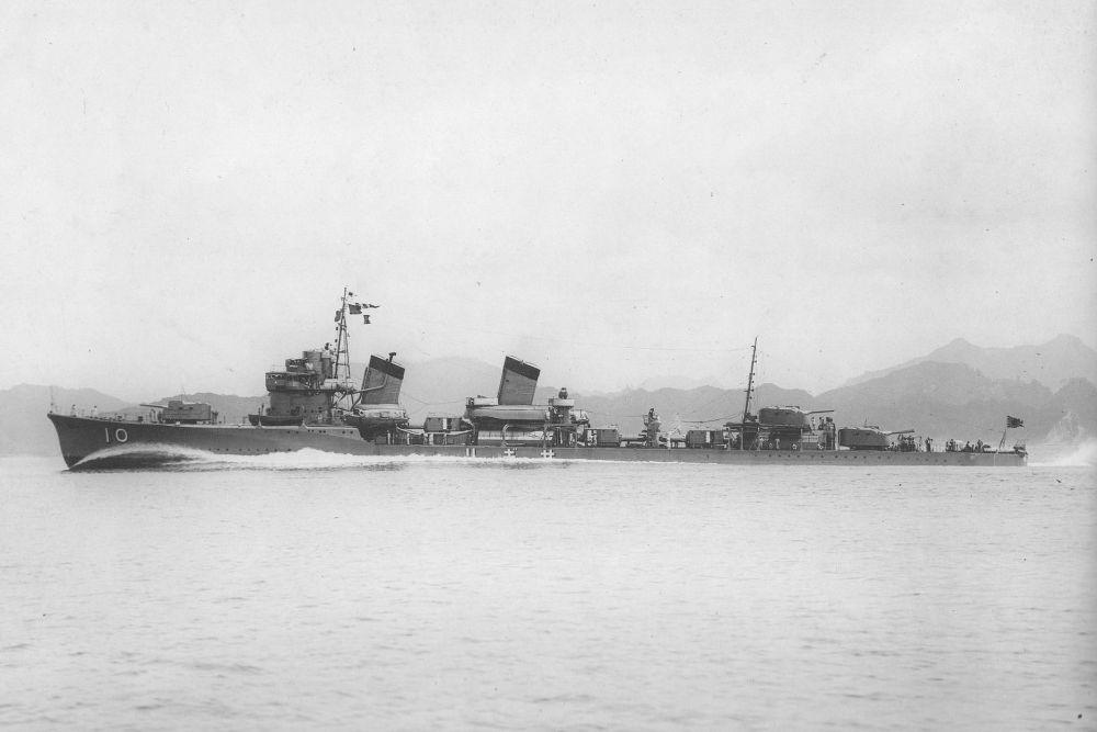 Japanse Torpedobootjagers van de Ayanami-klasse
