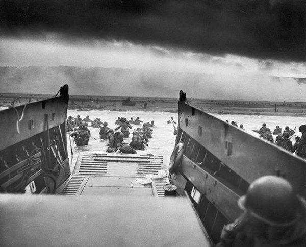 Landingen op Omaha Beach
