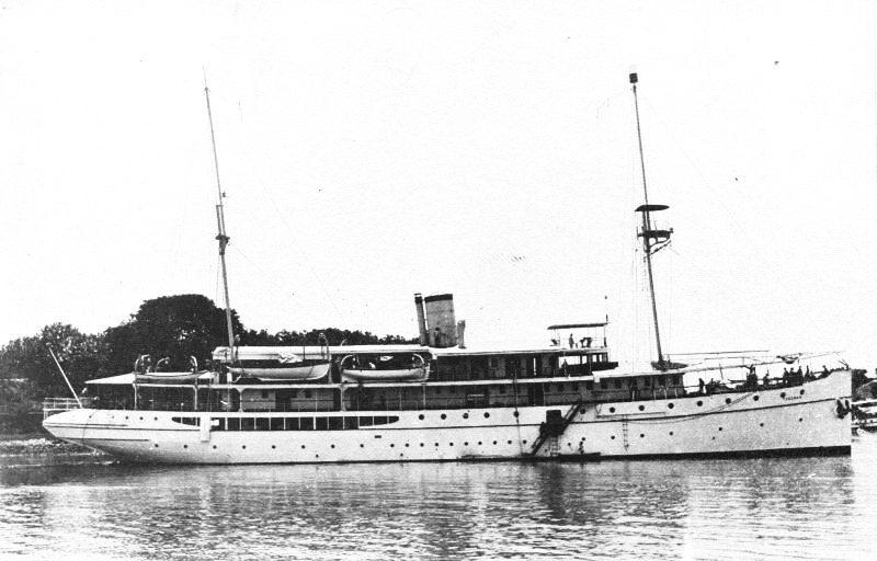 Gemilitariseerde schepen van de Gouvernements Marine