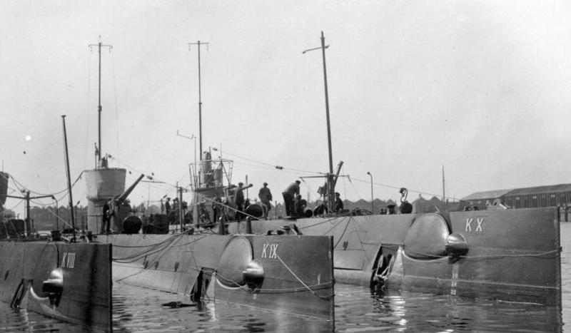 Onderzeeboten van de K VIII-klasse