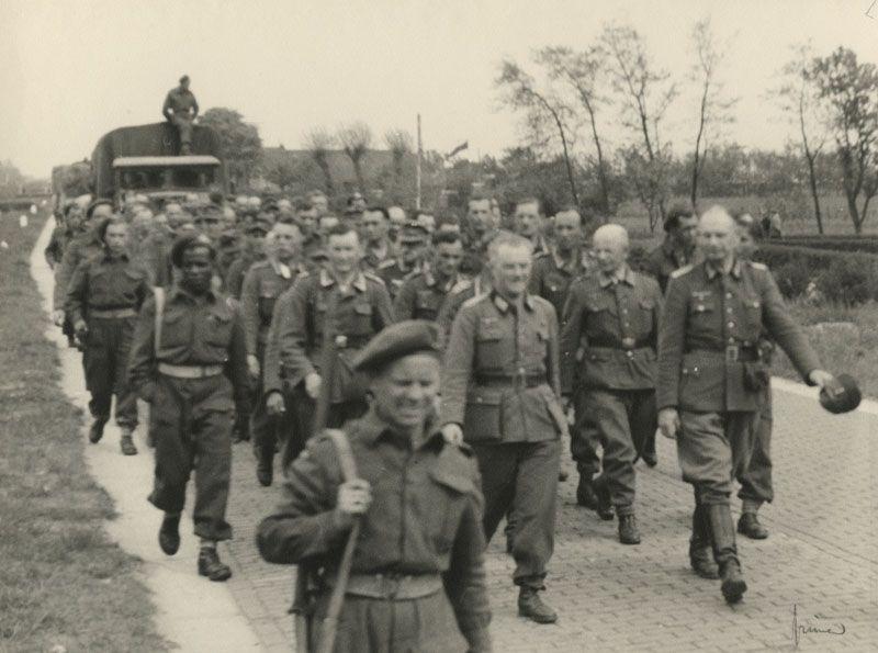 Herman Besselaar, de uittocht van Duitsers uit Rotterdam in mei 1945