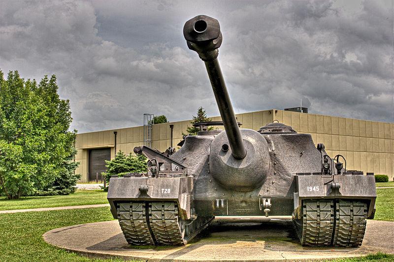 105 mm Gun Motor Carriage T95