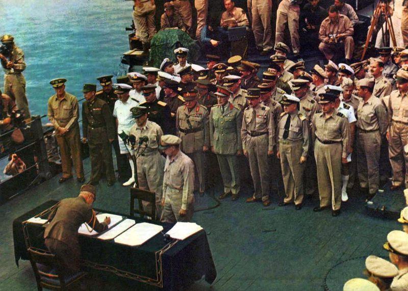 Japanse capitulatie-overeenkomst (02-09-1945)