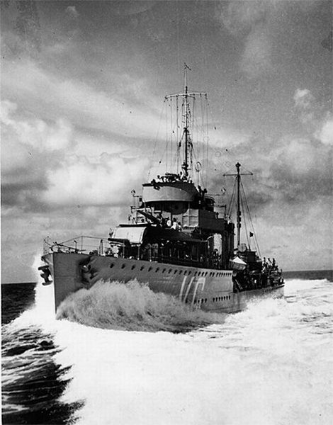 Torpedobootjagers van de Admiralen-klasse
