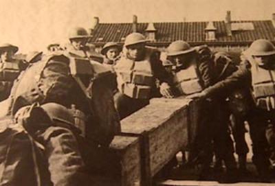 Britse troepen in Nederland in mei 1940