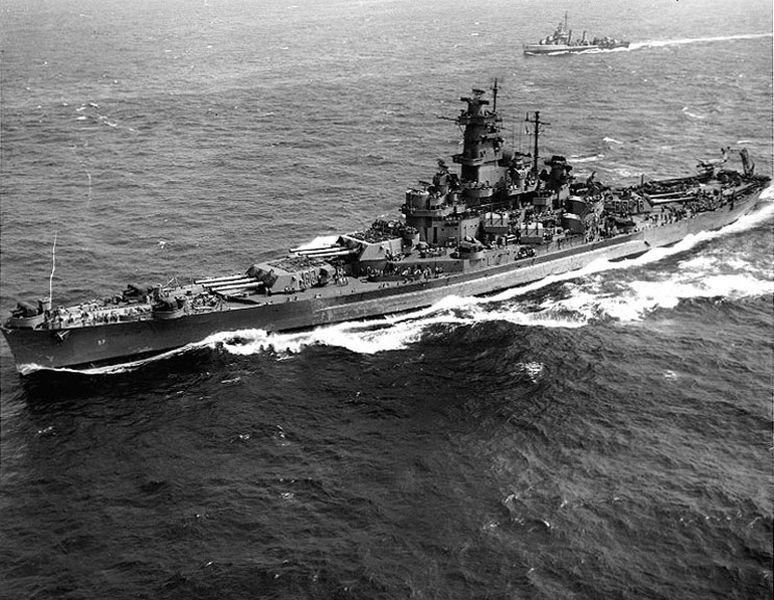 Amerikaanse slagschepen van de South Dakota-klasse