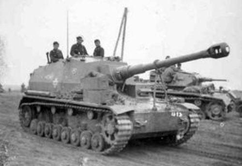 10.5 cm K gepanzerte Selbstfahrlafette / Dicker Max