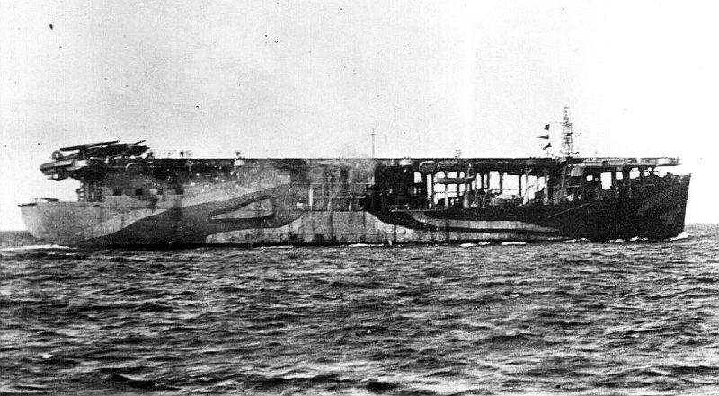 Brits escortevliegdekschip HMS Archer