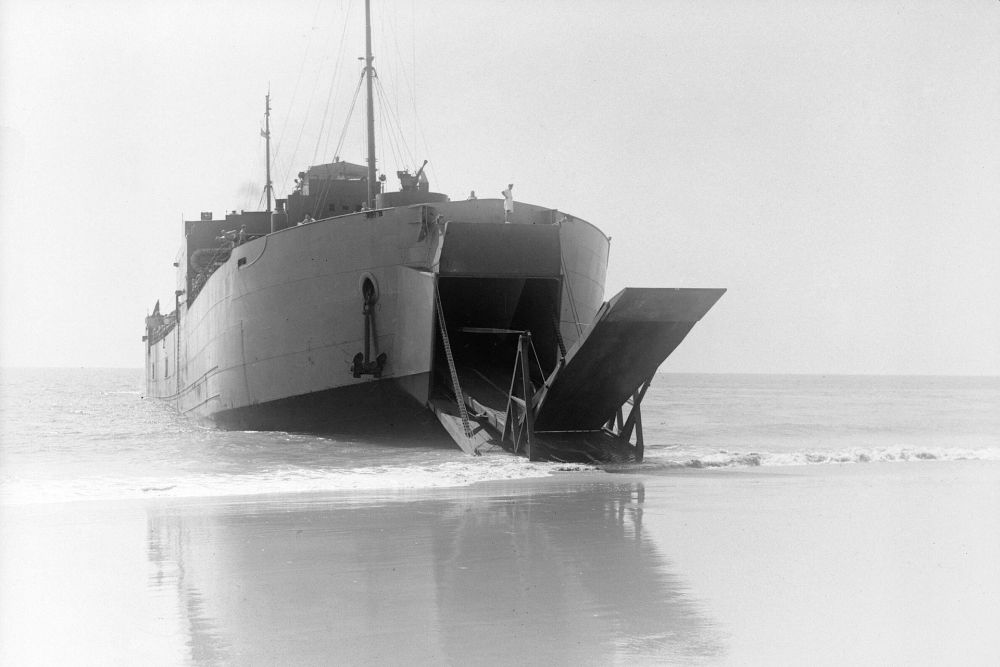 Britse Landing Ship Tank van de Maracaibo-klasse
