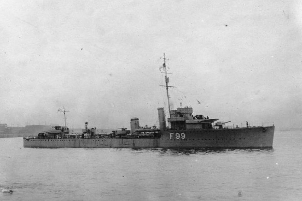 Britse Torpedobootjagers van de Admiralty V-class Leaders-klasse