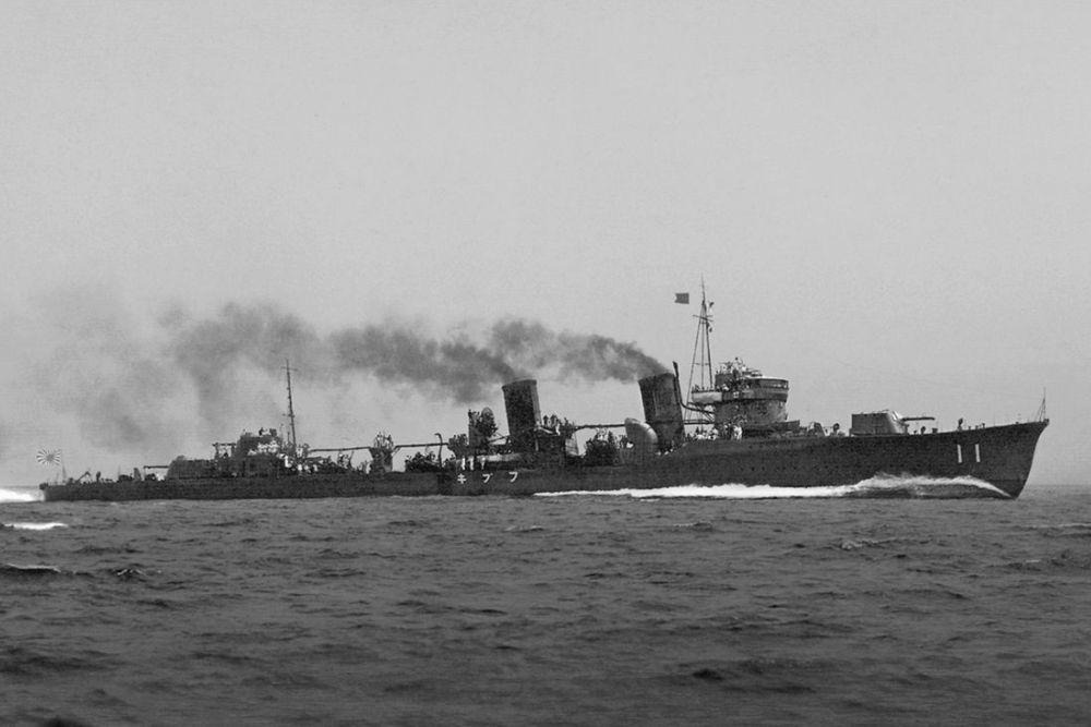 Japanse Torpedobootjagers van de Fubuki-klasse
