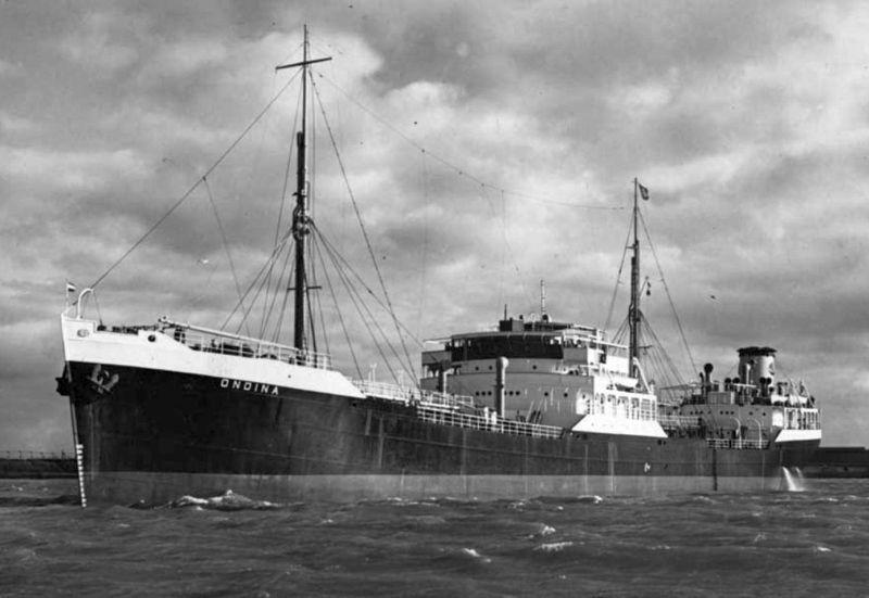 Heroïsche strijd van de tanker Ondina en HMIS Bengal