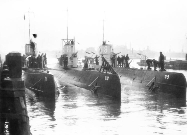 Onderzeeboten van de O 9-klasse