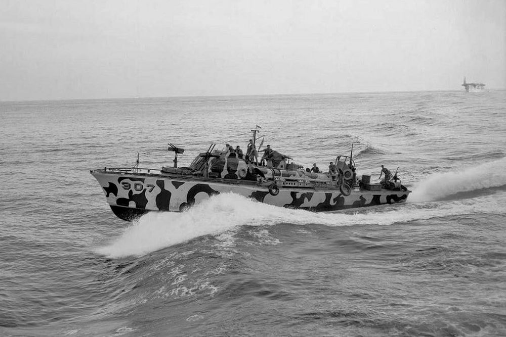 Amerikaanse Torpedoboten van de Elco 77-foot PT boat-klasse