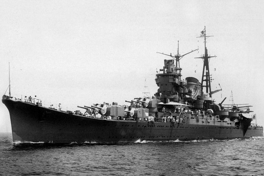 Japanse Zware-kruiser Mogami (1935)